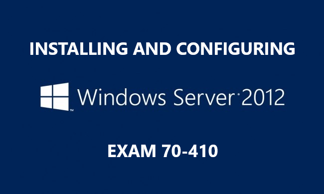 Configuring Windows Server 2012