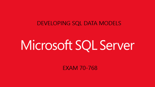 Developing SQL Data Models
